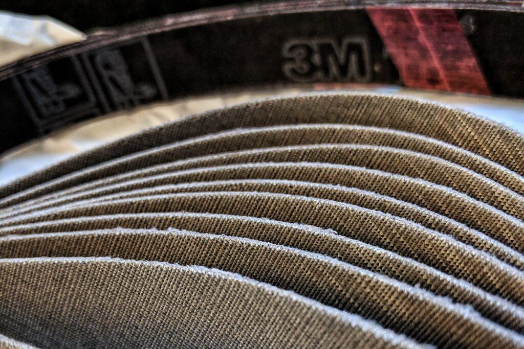 3M Trizact belts closeup